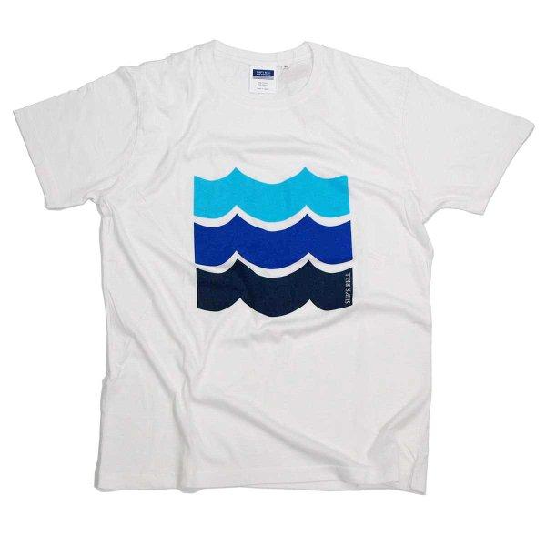 画像1: シップスベル デザインTシャツ (ホワイト) (1)