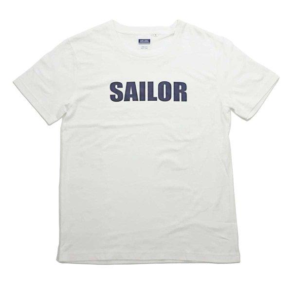 画像1: シップスベル ベーシックロゴTシャツ (ホワイト) (1)