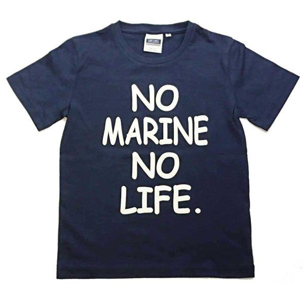 画像1: シップスベル メッセージTシャツ (ネイビー) (1)