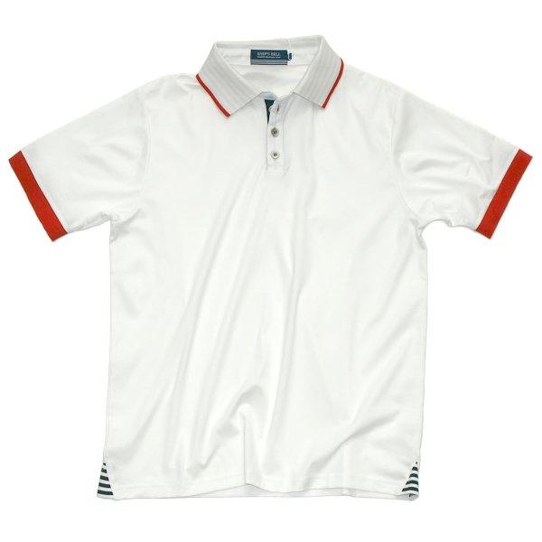 画像1: シップスベル  Sea Side Polo  (ホワイト) (1)